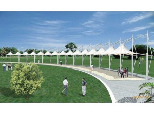 高尔夫场馆膜结构