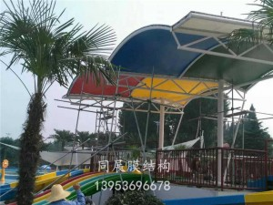 广饶欢乐海洋水上乐园景观膜结构