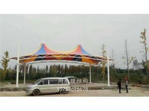 铜陵西湖游乐园彩膜景观