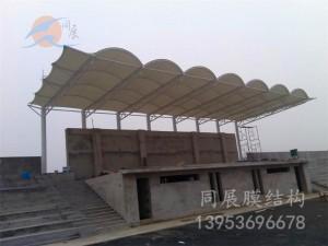 太原十二中学膜结构看台