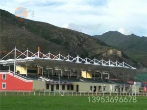 襄樊高级实验中学膜结构看台