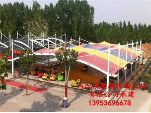 淄博玉黛湖游乐园膜结构