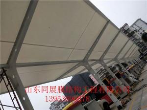 广州罗冲围汽车站充电桩雨棚