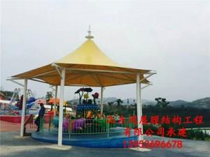 陕西安康游乐园膜结构景观