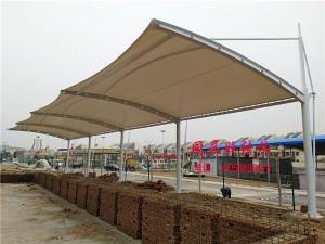 莱芜欢乐莱游乐园泳池膜结构遮阳